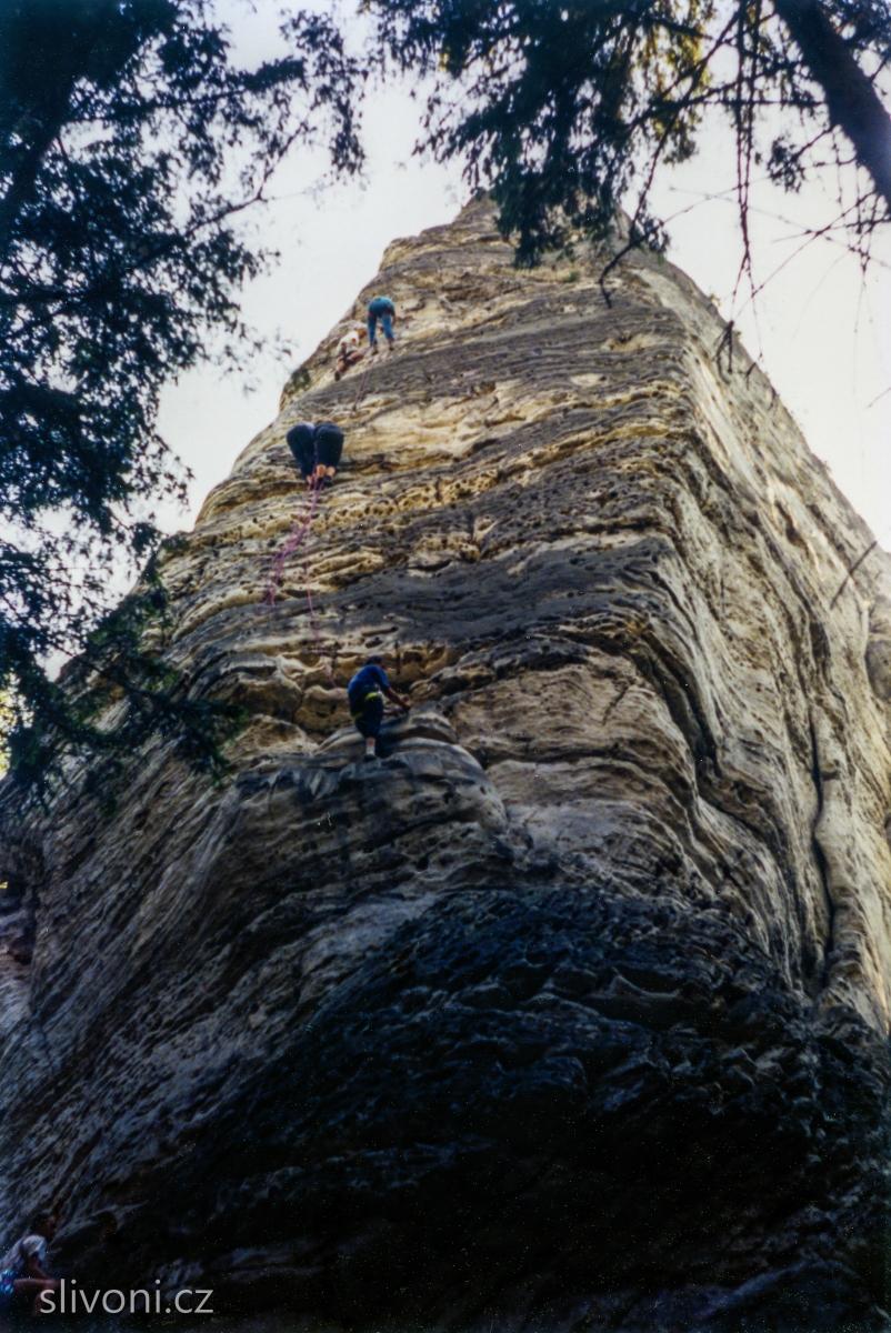 Hruboskalsko - Podmokelská (na údolní stěně)