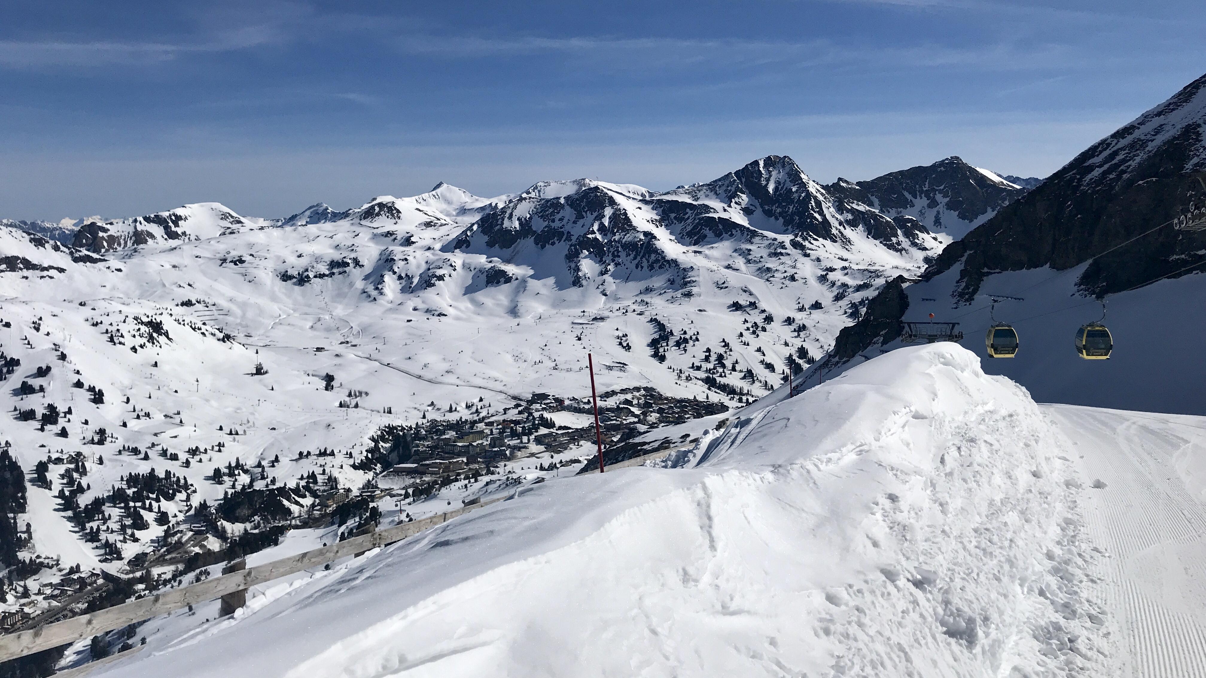 Jarní lyžovačka v Rakousku