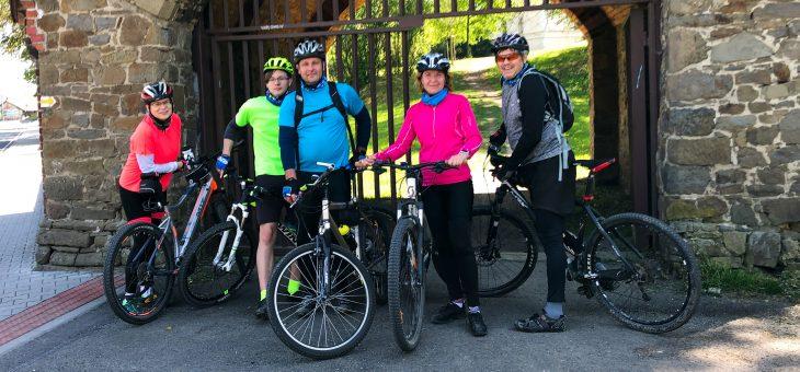 82 km na kole v Poodří