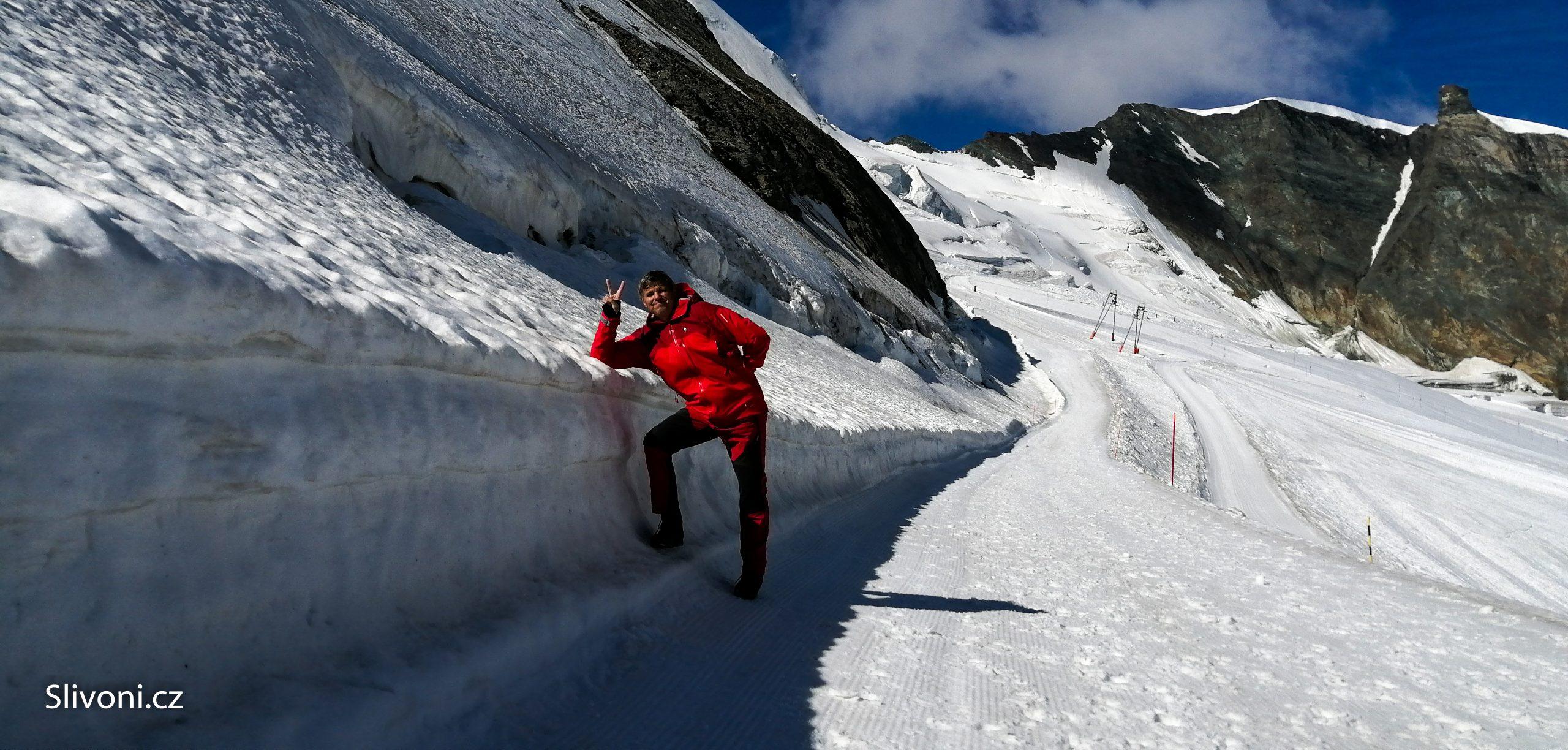Den 2 – Výjezd na ledovec