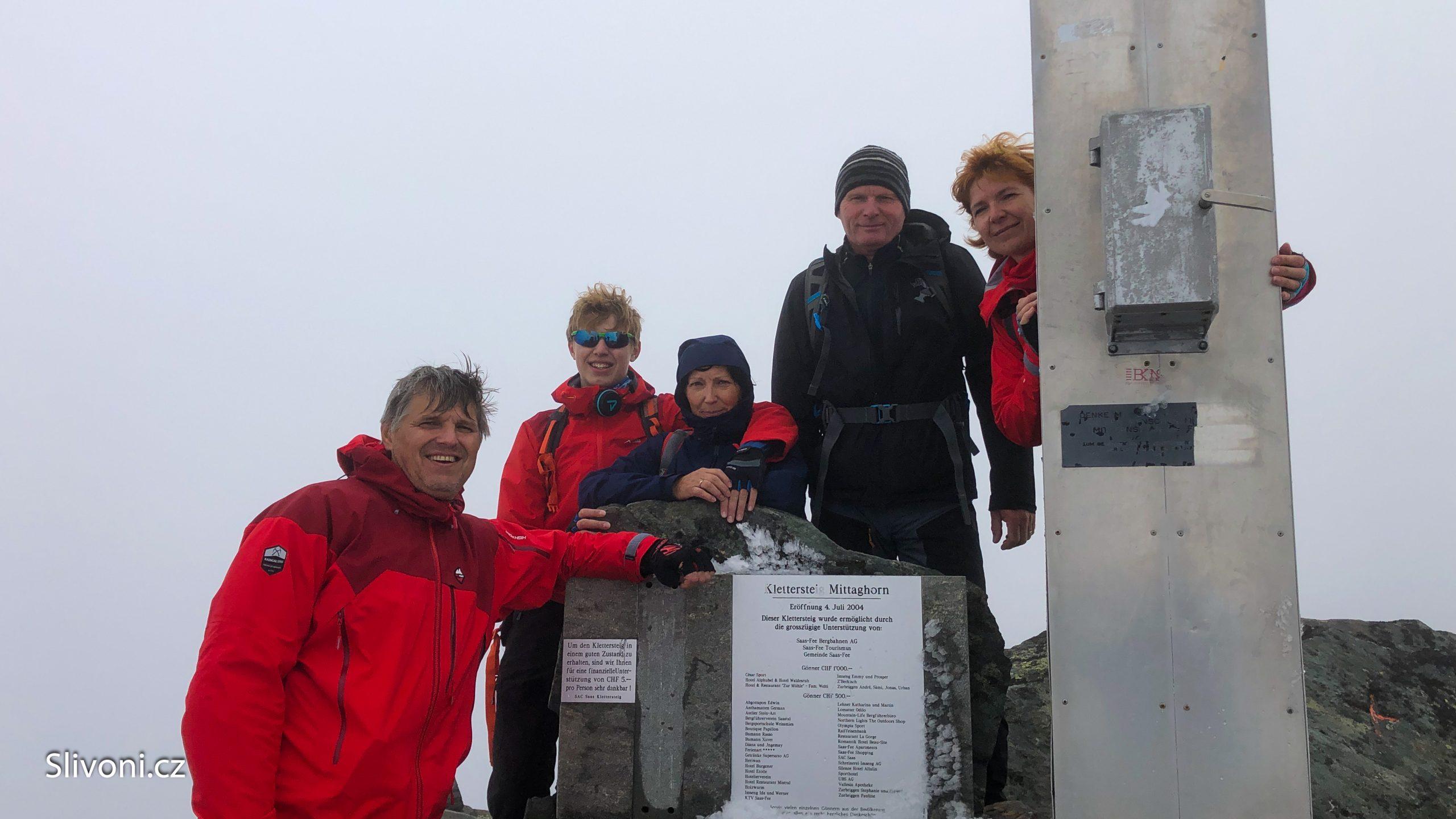 Den 4 – Výstup na Mittaghorn 3.143 m.n.m.