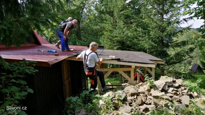 Stavíme dřevníček
